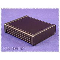 HAMMOND 1455L1201BK - ALUMIINIKOTELO 123x103x30,5mm musta