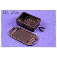 HAMMOND 1551GFLBK - ABS-Muovikotelo 50x35x20mm MUSTA IP54