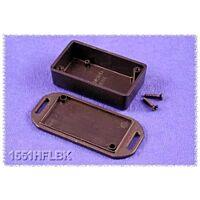 HAMMOND 1551HFLBK - ABS-Muovikotelo 60x35x20mm MUSTA IP54
