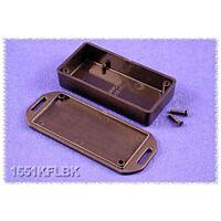 HAMMOND 1551KFLBK - ABS-Muovikotelo 80x40x20mm MUSTA IP54