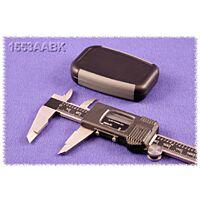 HAMMOND 1553AABK - ABS-Muovikotelo 75x50x17mm Musta / Harmaa