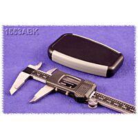 HAMMOND 1553ABK - ABS-Muovikotelo 100x61x17mm Musta / Harmaa