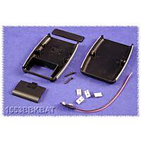 HAMMOND 1553BBKBAT - ABS-Muovikotelo 117x79x24mm Musta /Harmaa