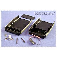 HAMMOND 1553CBKBAT - ABS-Muovikotelo 117x79x33mm Musta / Harmaa