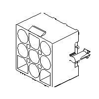 MOLEX 15-31-1046 - Pin and Socket Header 4 napainen