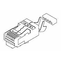 MOLEX 449150011 - Long Body Rj-45 liitin Cat 6 shielded
