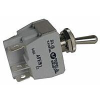 APEM 646H/2 - 600H-sarjan Vipukytkin 2-napainen ON-ON Asennusaukko 12,2 mm