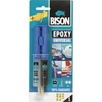 BISON EPOXY - Epoksihartsiliima G2, 2-komp. 24ml