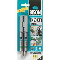 BISON EPOXY METAL - Epoksihartsiliima 2-komp. 24ml