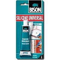 BISON SILICONE K - Silikonitiivistemassa B3, kirkas 60ml