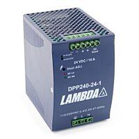 TDK-LAMBDA DPP240-24 - 90-264VAC/24VDC/10A/240W
