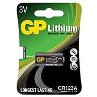 GP BATTERIES CR123A-GP - Litium-fotoparisto 3V 1400 mAh