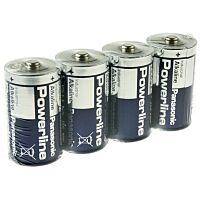 PANASONIC LR20AD/4P - Powerline Industrial D Alkaliparisto 4 kpl/pakkaus