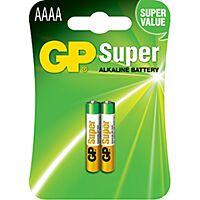 GP BATTERIES LR61-GP - Alkaliparisto LR61 AAAA SUPER 1,5V