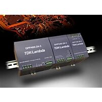TDK-LAMBDA DPP240-24-3 - 340-575VAC/24VDC/10A/240W 3-VAIHE