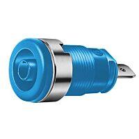HIRSCHMANN SEB2610-F4.8-SI (972355102) - Naparuuvi / Turvabanaanihylsy 4mm sininen