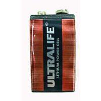 9V Litiumparisto 1.2Ah Ultralife U9VL