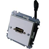 EXXACT-SCHNEIDER HDMI1001E - HDMI 1.4 Rasiakaluste 20cm naaras / naaras Liityntäkaapelilla