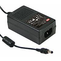 Virtalähde 5V 3A 18W IEC C14 - MEAN WELL GST18A05-P1J
