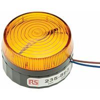 RS Pro  235893 - Xenon 230V AC keltainen pint
