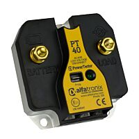 Alfatronix PT40 - Akkuvahti 9-32 Vdc 40A IP65 - Esiohjelmoitu