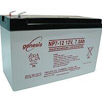ENERSYS GENESIS NP7-12  LYIJYAKKU 12V 7AH 3-5 VUOTTA