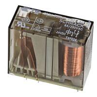 Schrack V23047-A1024-A511 - Turvarele 24V 250V 1-sulkeutuva (NO) ja 1-avautuva (NC) Kosketin