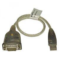 DELTACO UC232A - USB -> RS232 muunnin